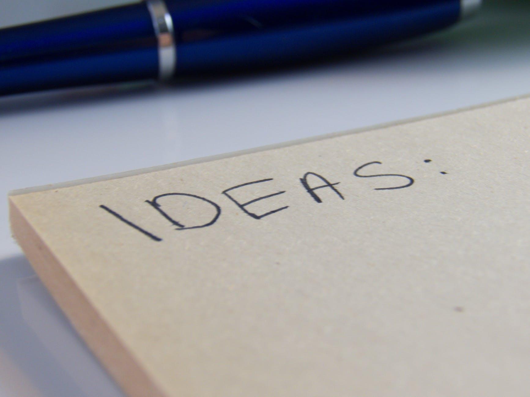 List-of-ideas